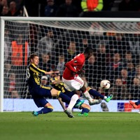 This Paul Pogba stunner was the highlight of United's win tonight