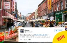 #MakeASongDublin is trending on Twitter and it's an absolute joy