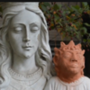 Parishioners in Canada are upset at this restored statue of the baby Jesus