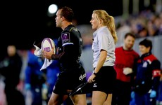 Former Ireland captain Joy Neville made European rugby history last night
