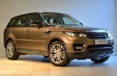If I had the money I'd buy a... Range Rover Sport