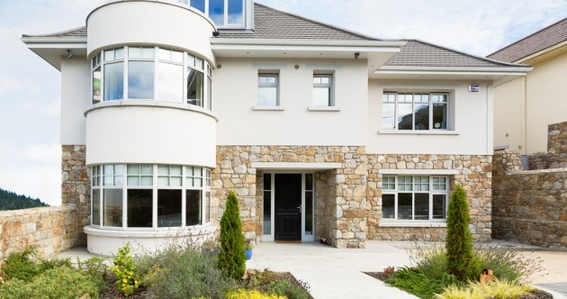 This lovely stone-clad detached Dalkey home is up for grabs