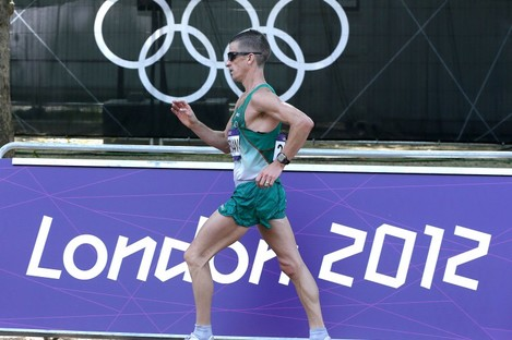 Heffernan during the London Games.