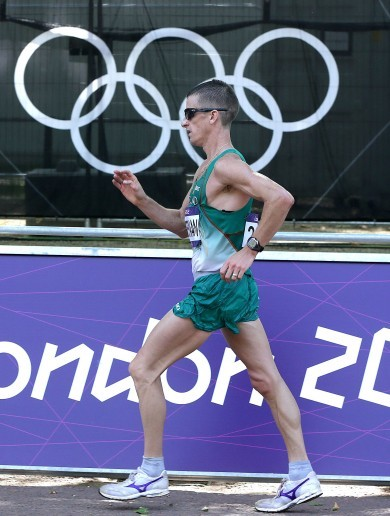 Four years later, Rob Heffernan will finally be presented with his Olympic medal