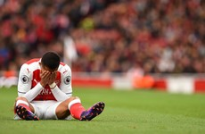 Arsenal go top but winning run comes to an end against Boro