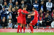Mane and Coutinho on target as Liverpool go second