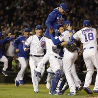 Long-suffering Cubs blitz Dodgers to reach World Series for first time in 71 years