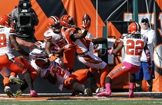AJ Green goes up against five defenders on 48-yard Hail Mary - and wins