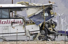 13 people die in tour bus crash in California