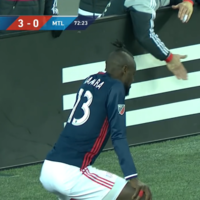 MLS striker booked for celebrating goal by twerking
