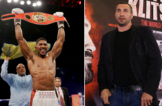 Klitschko injury means December title fight with Joshua won't be happening