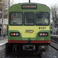 Dart delays after truck strikes bridge in Dublin city