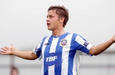 Coleraine player punched by fan