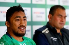 Contact with Joe Schmidt helped Aki reach Connacht contract decision