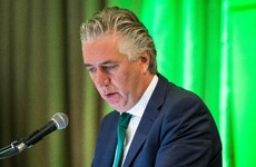 John Delaney has stepped down from his role as OCI vice-president