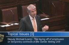 Minister denies JobBridge interns are replacing staff at Garda Vetting Unit