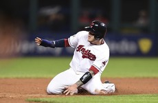 First blood, Cleveland! Indians hit Cubs for 6 in World Series opener