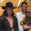 The Undertaker was in the building as Cleveland opened their NBA title defence