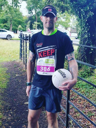 The runner hoping to break a world record by soloing this weekend's Dublin Marathon