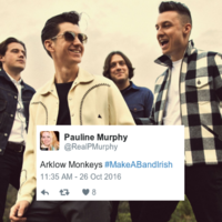 People are sharing the most perfect ways to #MakeABandIrish