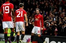 Juan Mata goal sees Man United earn vital win over rivals City