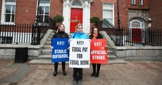 "ASTI is ""a long way away"" from temporarily suspending teachers strike"