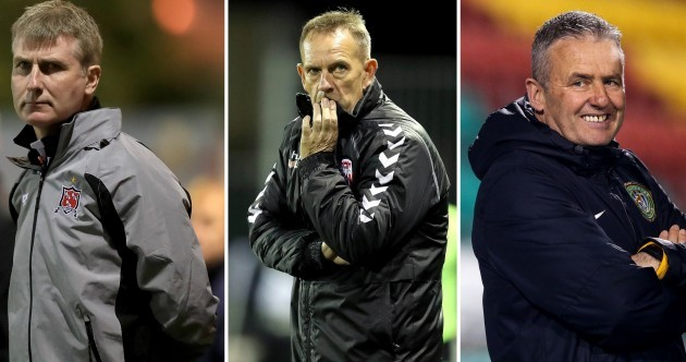 All the Kennys shortlisted for PFAI Manager of the Year