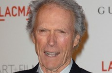 Clint Eastwood accepts inaugural Irish film award