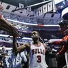 Dwayne Wade began his Bulls career in style at his Chicago homecoming last night