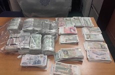 Four arrested for money laundering as gardaí seize £100,000 sterling