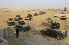Iraqi forces move to cut off Islamic State militant supply lines