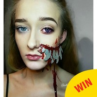 This Donegal makeup artist's Halloween looks are wonderfully gory