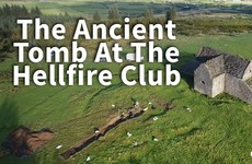 Watch: Archaeologists explore an ancient tomb beside the Hellfire Club