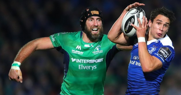 Leinster power past Connacht to move top of Pro12