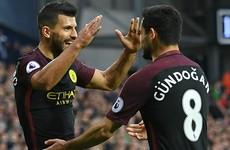 Aguero and Gundogan on target as City return to winning ways