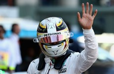 Hamilton storms to pole at Mexican Grand Prix