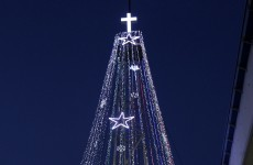 Korean tensions over giant 'Christmas tree' near DMZ resurface