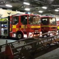 Dublin Fire Brigade has received over 100 callouts since noon