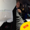 A lovely dad passed out sweets on a plane so his daughter could go trick-or-treating
