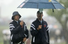 Americans gain ground as Ryder Cup resumes