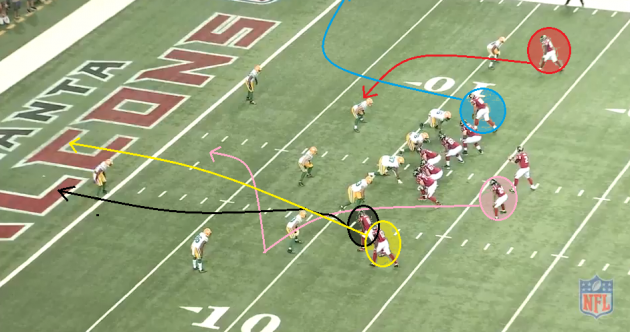 Analysis: How the Falcons dialed up the perfect play to beat the Packers at the death