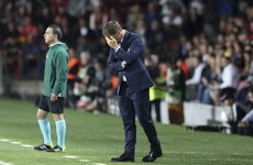 Frank de Boer sacked by Inter after just 11 Serie A matches