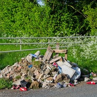 Night vision CCTV to monitor illegal dumping hotspots in Wicklow mountains