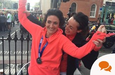 26.2 miles later: 'You started something, played the long game and you finished it. Job done.'
