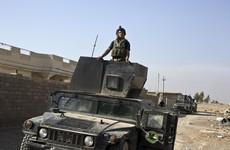 'Beginning of true liberation': Iraqi army pushes into IS-held Mosul
