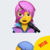 There's a little emoji tribute to David Bowie in the newest iPhone update