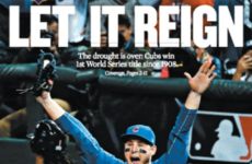 'What a wonderful world': How American newspapers reacted to the Cubs' historic victory
