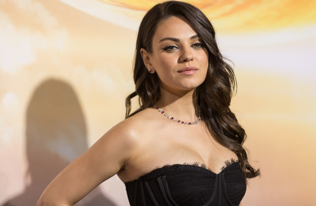 gender pay gap middot ie you ll never work in this town again mila kunis reveals producer s