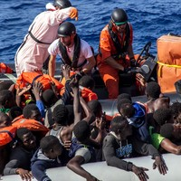 Almost 250 migrants, who were forced to sail at gunpoint, feared drowned in Mediterranean