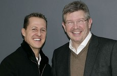 Schumacher showing 'encouraging signs' - Brawn